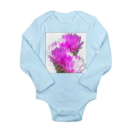 Cactus Blooms Long Sleeve Infant Bodysuit