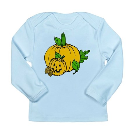 Jack 0 Lantern Long Sleeve Infant T-Shirt