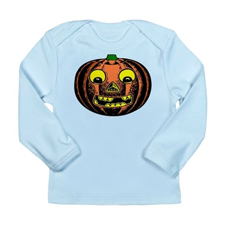 Vintage Jack-O-Lantern Long Sleeve Infant T-Shirt