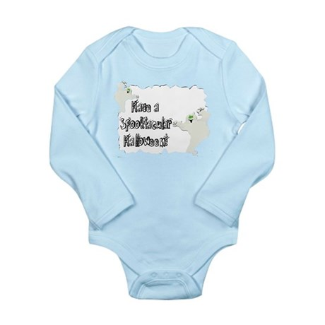 Spooktacular Halloween Long Sleeve Infant Bodysuit