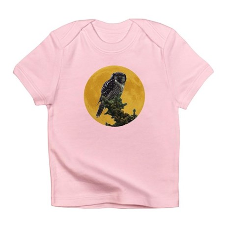 Owl and Moon Infant T-Shirt