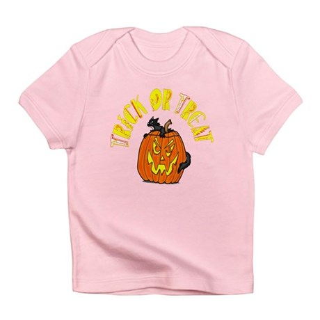Jack o Lantern Cat Infant T-Shirt