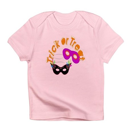 Trick or Treat Masks Infant T-Shirt