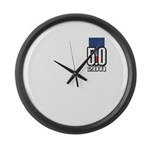 5.0 Mustang Large Wall Clock