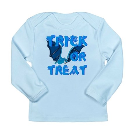 Trick or Treat Bat Long Sleeve Infant T-Shirt