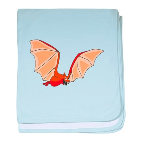 Flying Bat baby blanket
