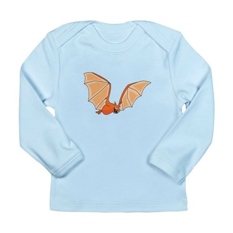 Flying Bat Long Sleeve Infant T-Shirt