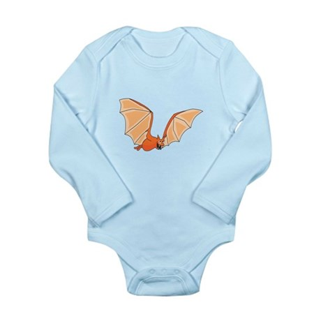 Flying Bat Long Sleeve Infant Bodysuit