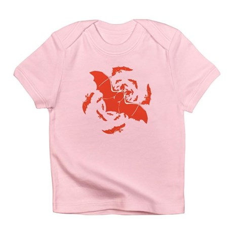 Orange Bats Infant T-Shirt