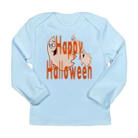 Happy Halloween Long Sleeve Infant T-Shirt