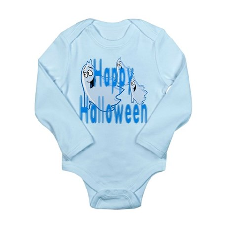 Happy Halloween Long Sleeve Infant Bodysuit