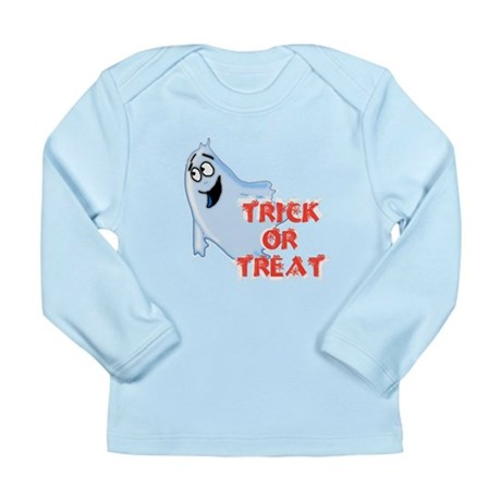 Trick or Treat Long Sleeve Infant T-Shirt