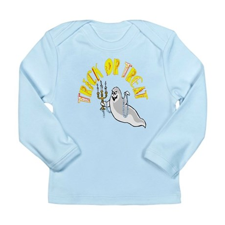 Prankster Ghost Long Sleeve Infant T-Shirt