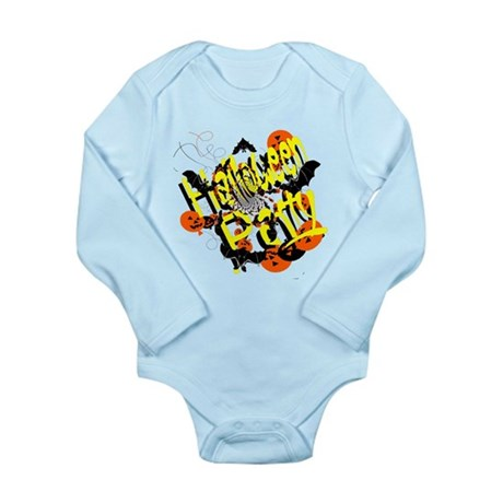 Halloween Party Long Sleeve Infant Bodysuit