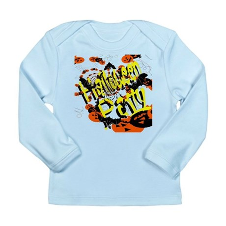 Halloween Party II Long Sleeve Infant T-Shirt