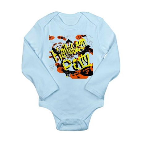 Halloween Party II Long Sleeve Infant Bodysuit
