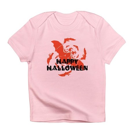 Happy Halloween Bats Infant T-Shirt