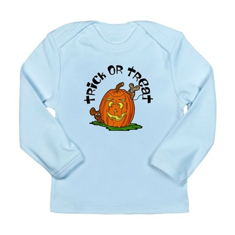 Pumpkin Mice Long Sleeve Infant T-Shirt