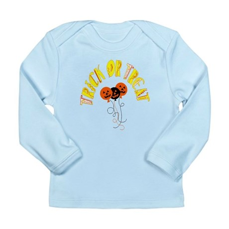 Trick or Treat Pumpkins Long Sleeve Infant T-Shirt