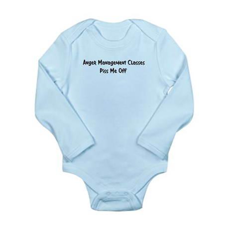 Anger Management Classes Piss Long Sleeve Infant B