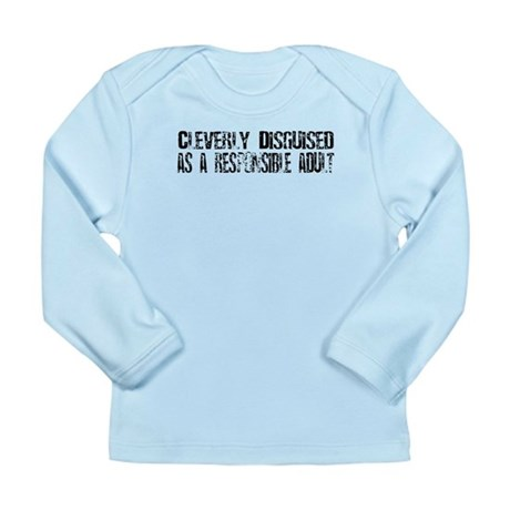 Responsible Adult Long Sleeve Infant T-Shirt