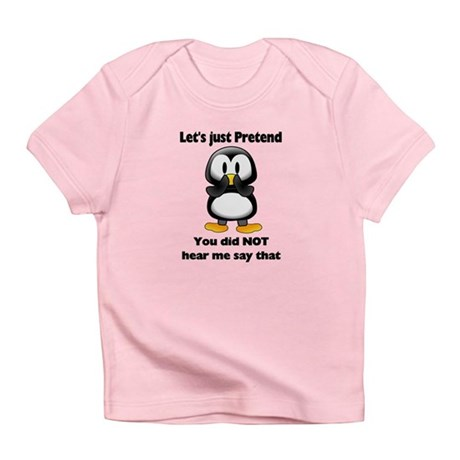 Pretend Penguin Infant T-Shirt