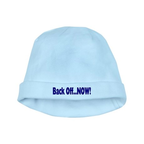 Back Off Now baby hat
