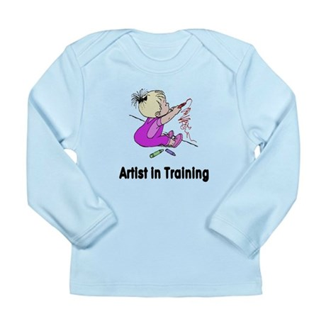 Artist in Training Long Sleeve Infant T-Shirt