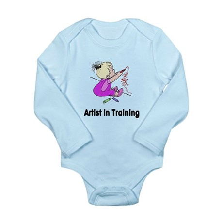 Artist in Training Long Sleeve Infant Bodysuit