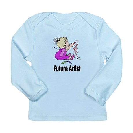 Future Artist Long Sleeve Infant T-Shirt