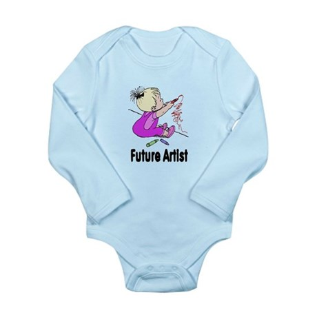 Future Artist Long Sleeve Infant Bodysuit