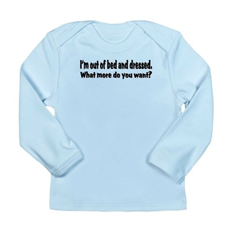 What More? Long Sleeve Infant T-Shirt