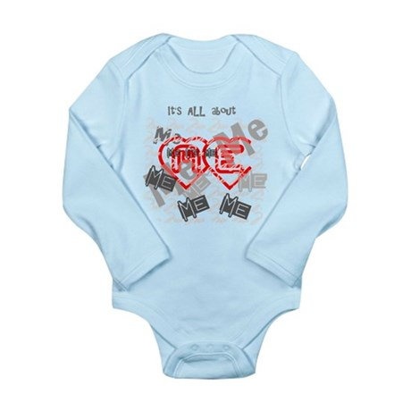 It's ALL about ME Long Sleeve Infant Bodysuit