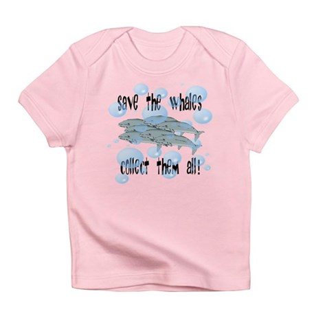 Save Whales - Collect Them Al Infant T-Shirt