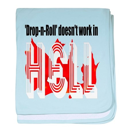 Drop N Roll baby blanket