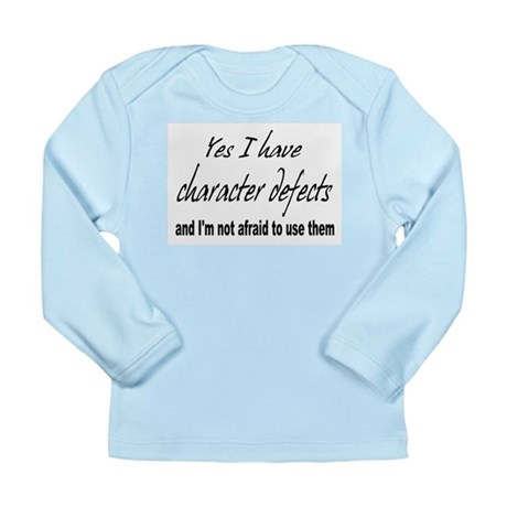 Character Defects Long Sleeve Infant T-Shirt