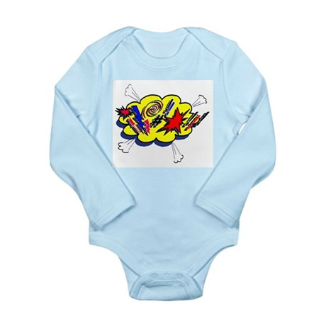 Expletive! Long Sleeve Infant Bodysuit