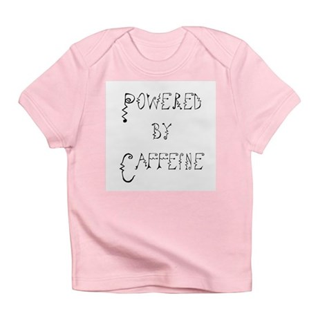 Powered by Caffeine Infant T-Shirt