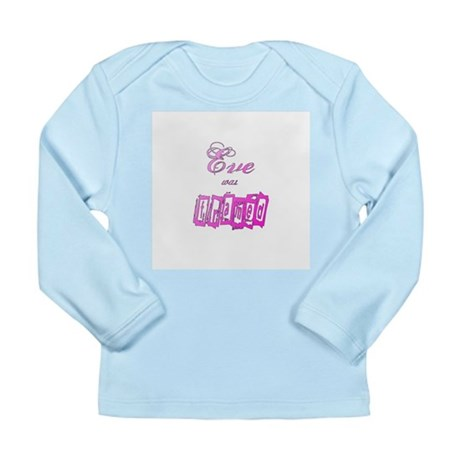 Eve was Framed Long Sleeve Infant T-Shirt