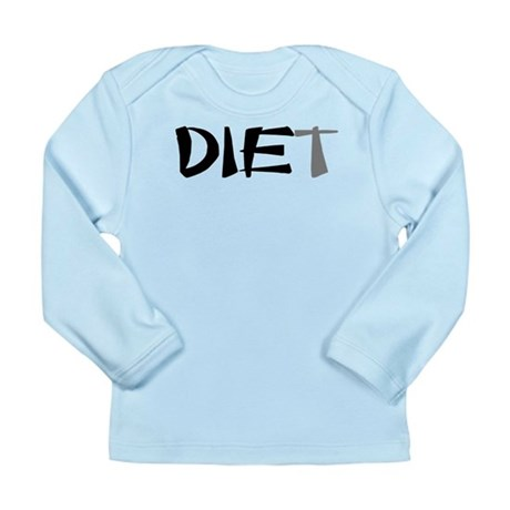 Diet Long Sleeve Infant T-Shirt