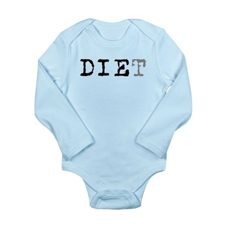 Diet Long Sleeve Infant Bodysuit