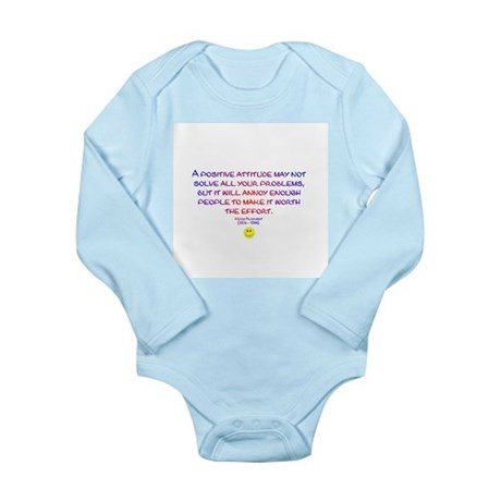 Positively Annoying Long Sleeve Infant Bodysuit