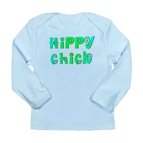 Hippy Chick Long Sleeve Infant T-Shirt