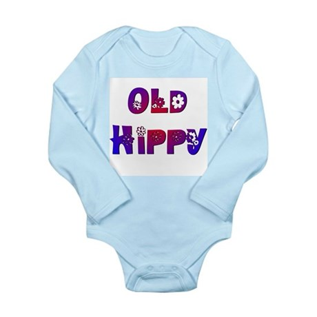 Old Hippy Long Sleeve Infant Bodysuit
