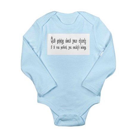 Perfect Church Long Sleeve Infant Bodysuit