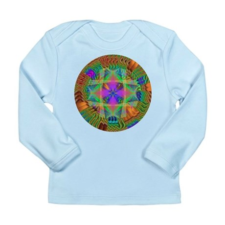 Kaleidoscope 002a Long Sleeve Infant T-Shirt