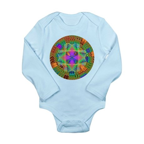 Kaleidoscope 002a Long Sleeve Infant Bodysuit