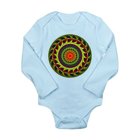 Kaleidoscope 00025 Long Sleeve Infant Bodysuit