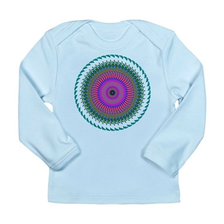 Kaleidoscope 006 Long Sleeve Infant T-Shirt
