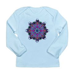 Kaleidoscope 005b2 Long Sleeve Infant T-Shirt